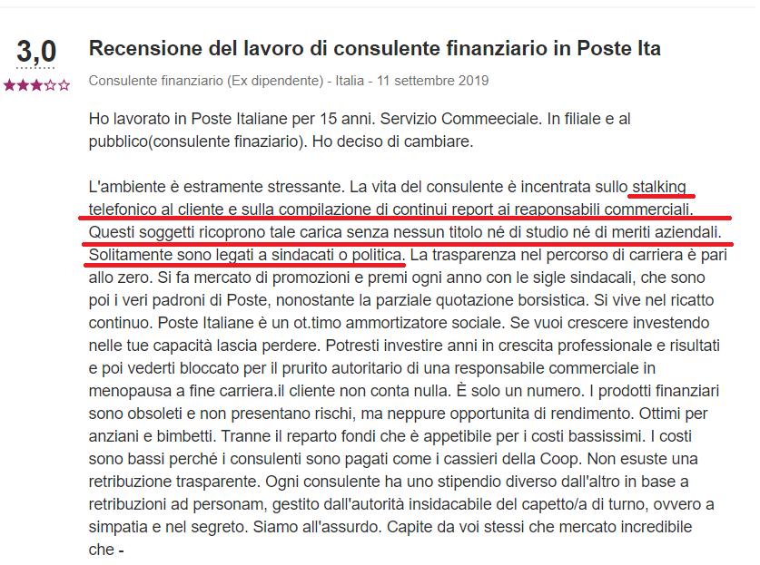 Recensioni sul trading poste italiane
